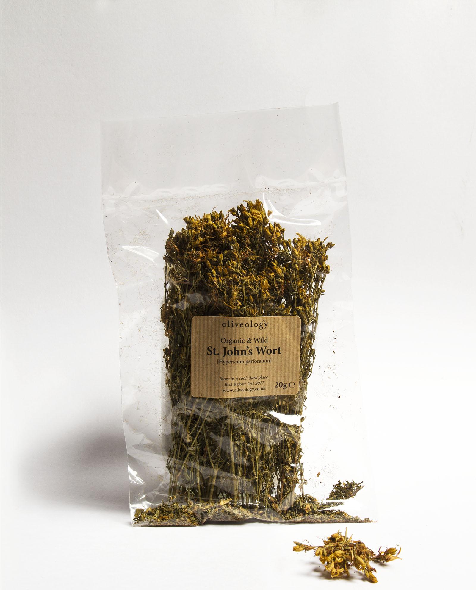 Greek St. John\'s Wort flowers - Oliveology Organic Artisan Products